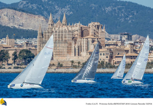 47 Trofeo Princesa Sofia IBEROSTAR, bay of Palma, Mallorca, Spain, takes place from 25th March to 2nd April 2016. Qualifier event for the Rio 2016 Olympic Games. Almost 800 boats and over 1.000 sailors from to 65 nations ©Jesus Renedo/Sofia